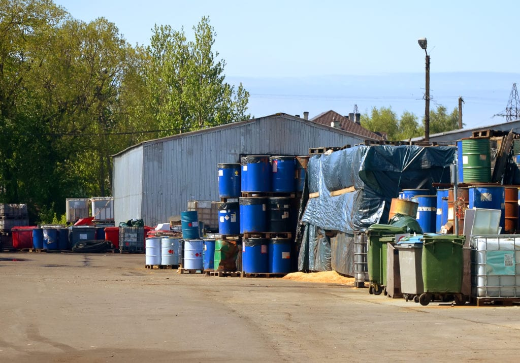 safe disposal of chemicals