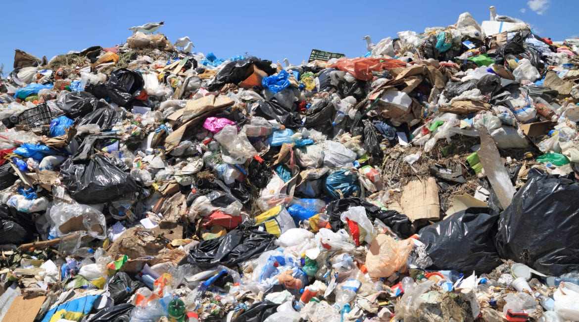 how does recycling reduce landfill waste