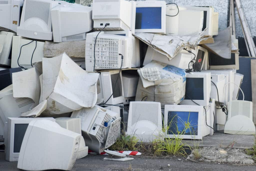 the history of recycling e-waste