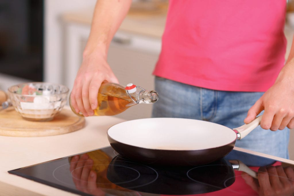 cooking with vegetable oil fuel