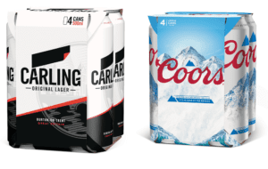 Molson Coors replace plastic rings